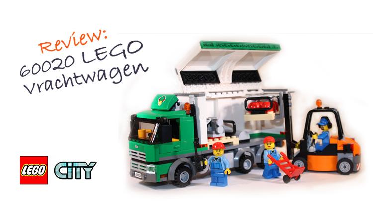Review: 60020 LEGO Vrachtwagen