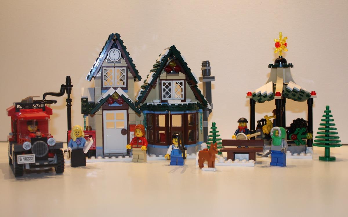 LEGO 10222 Winter Postkantoor compleet