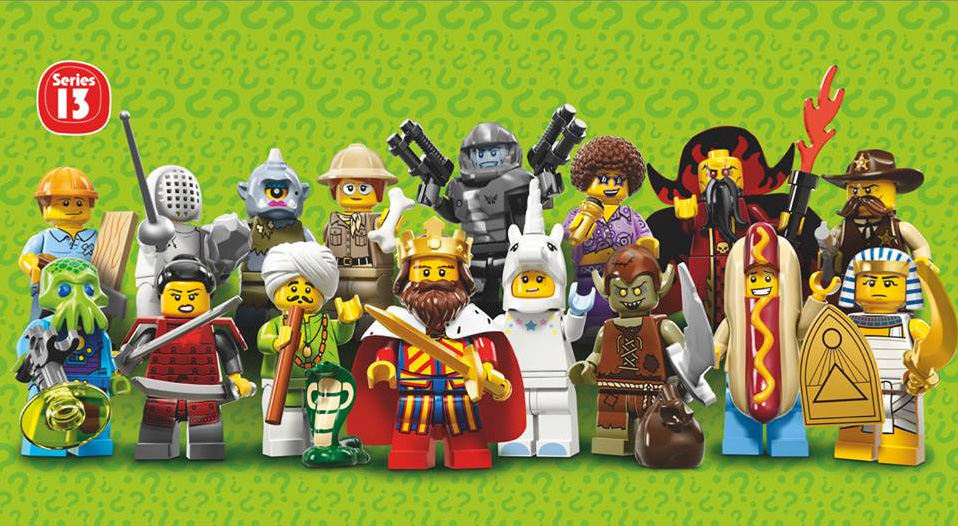 LEGO Collectable Minifigures Series 13 (71008)