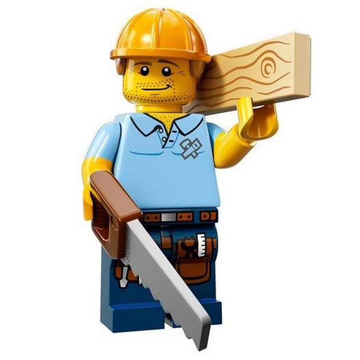 LEGO Collectable Minifigures Serie 13 Carpenter