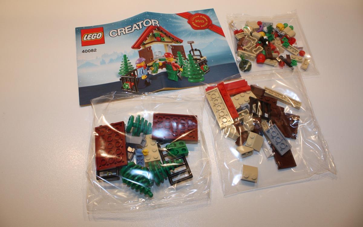 LEGO Creator 2013 limited edition 40082 onderdelen