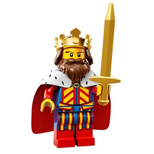 LEGO Collectable Minifigures Serie 13 Classic King