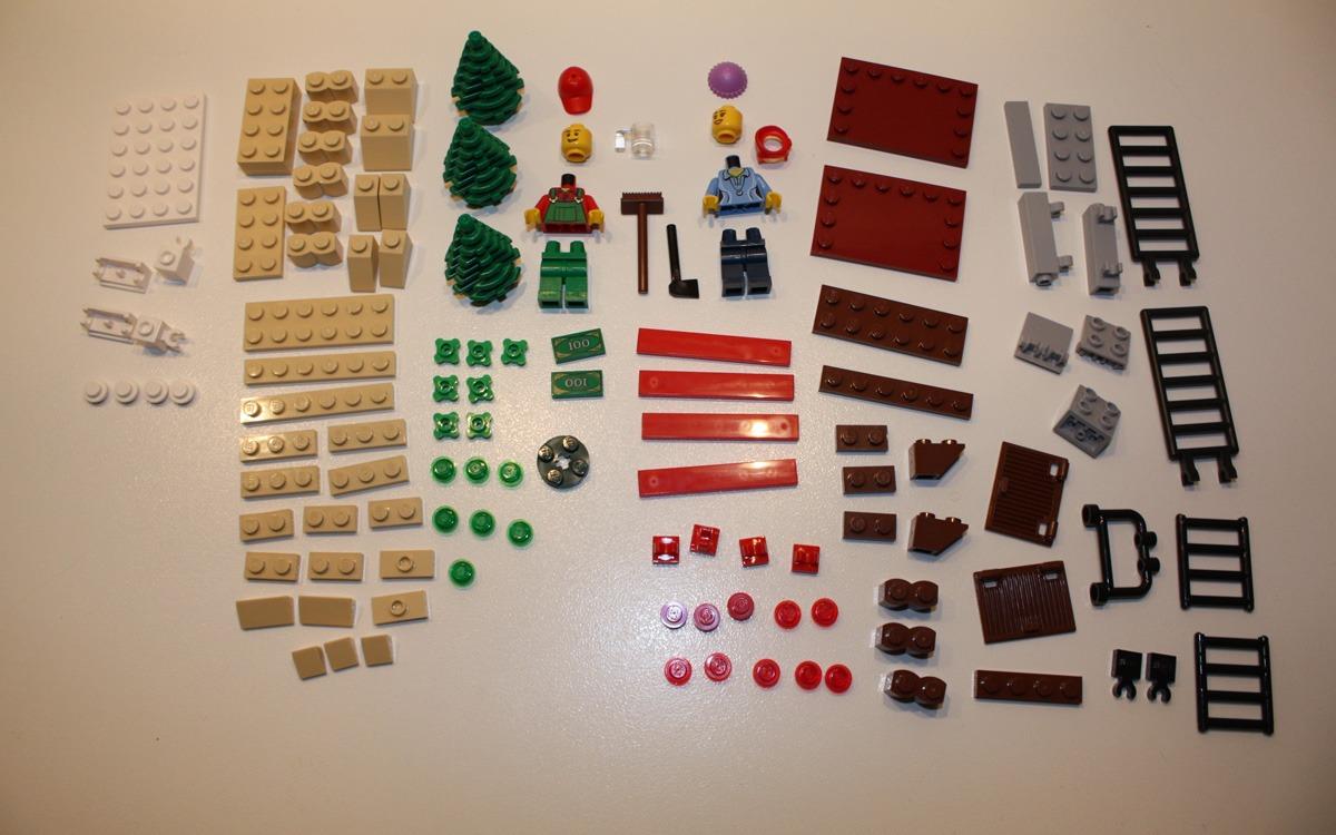 LEGO Creator 2013 limited edition 40082 onderdelen2