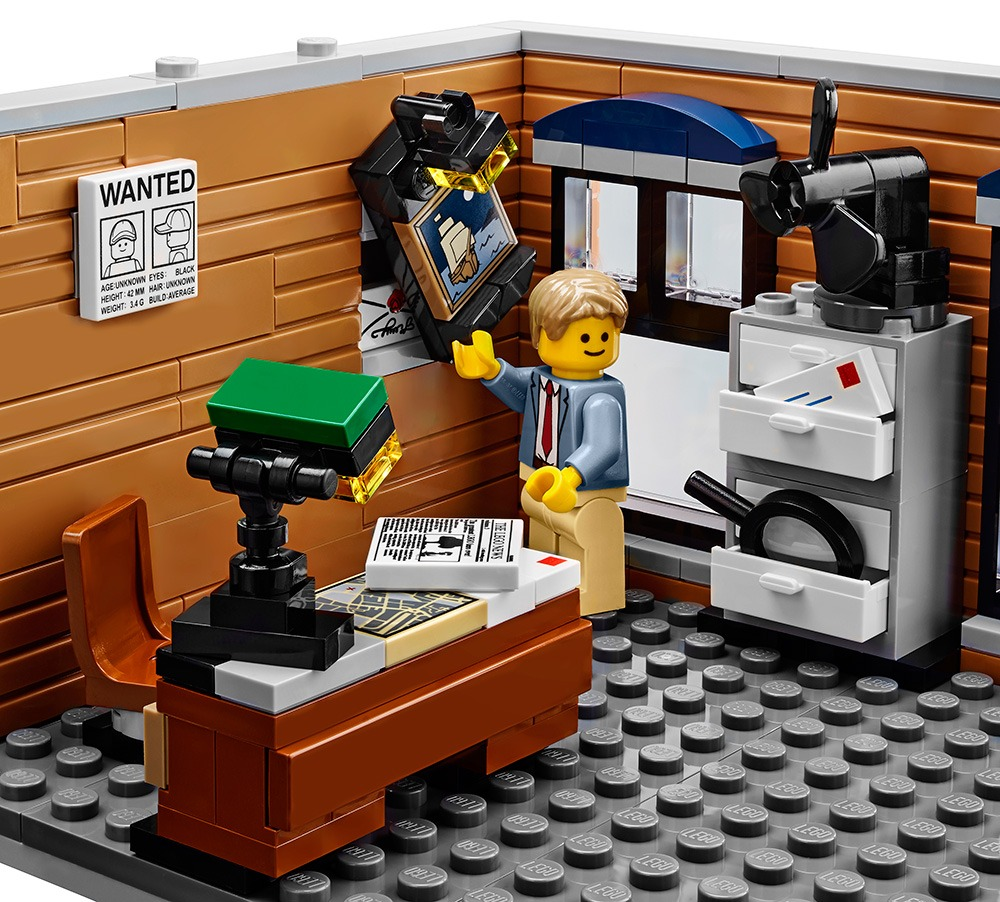 LEGO 10246 Detective's Office & Barber Shop