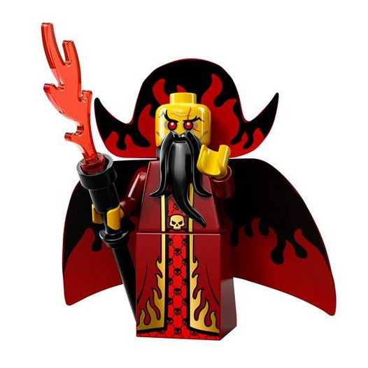 LEGO Collectable Minifigures Serie 13 Evil Wizard