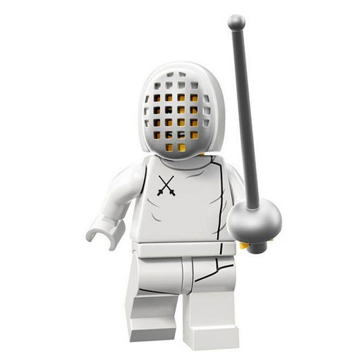 LEGO Collectable Minifigures Serie 13 Fencer
