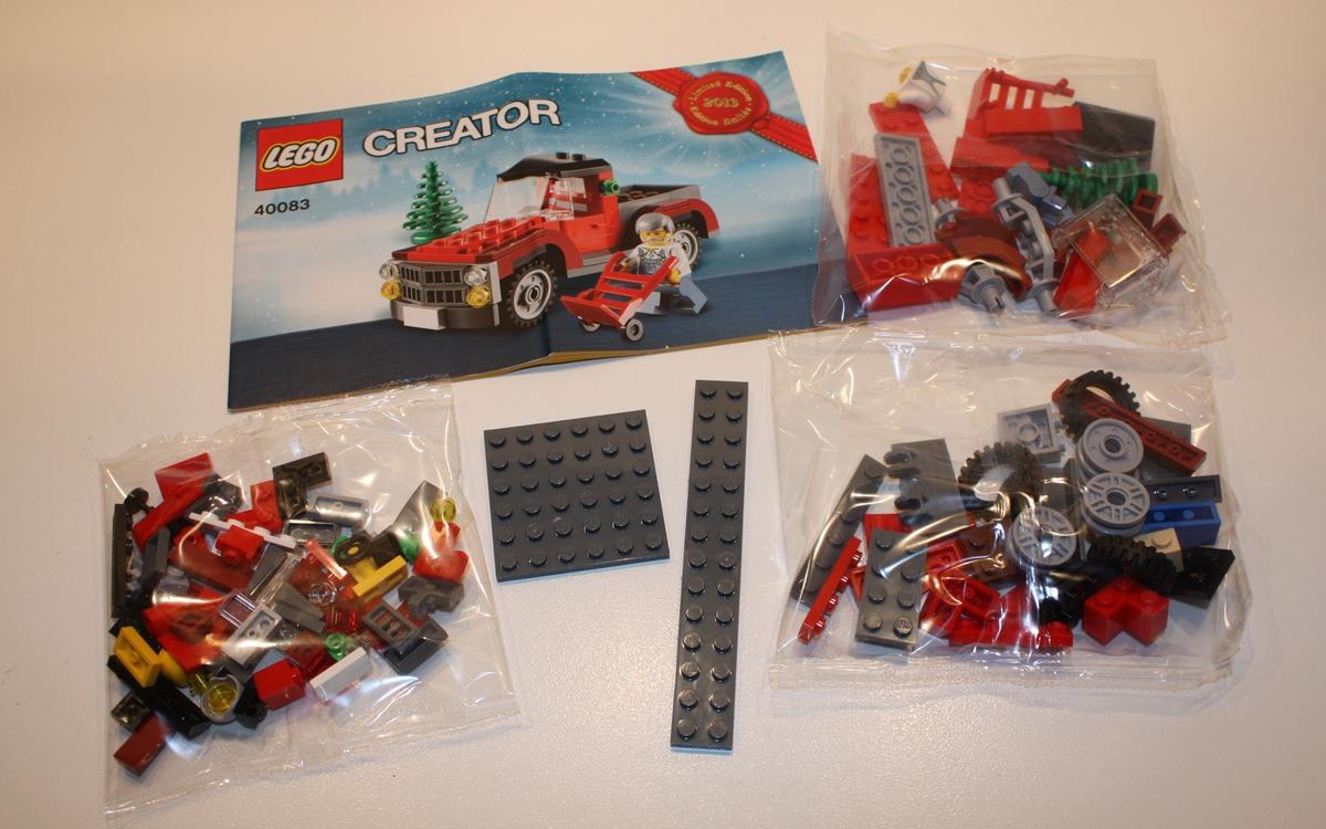 LEGO Creator 2013 limited edition 40083 onderdelen