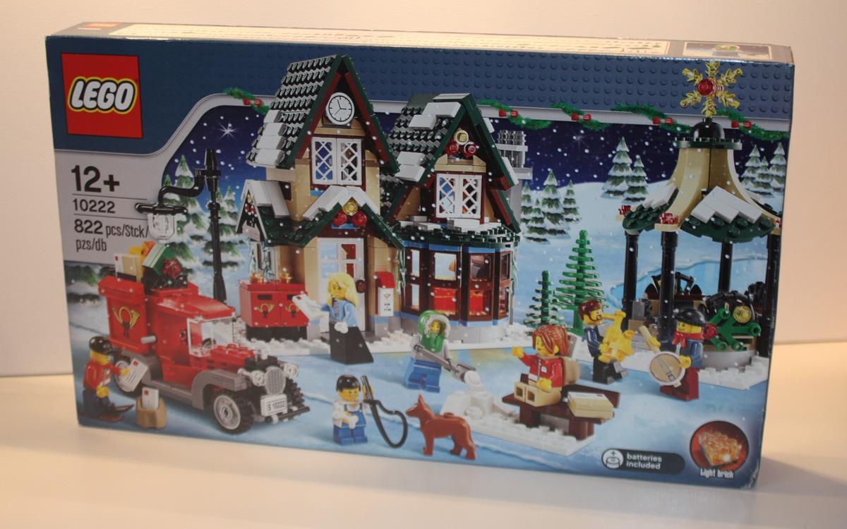 LEGO 10222 Winter Postkantoor doos voorkant