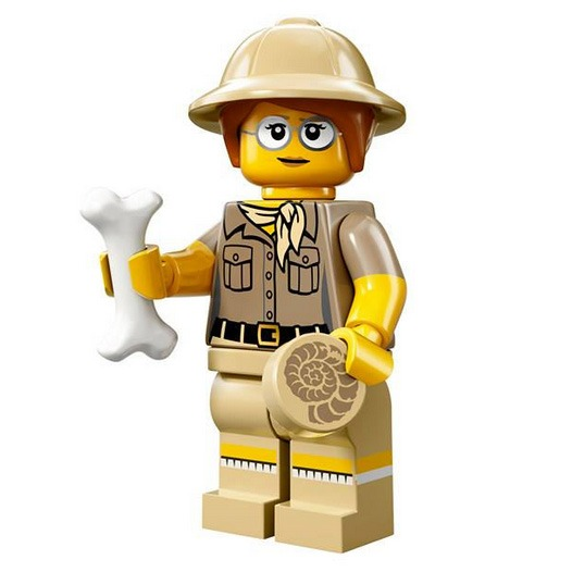 LEGO Collectable Minifigures Serie 13 Paleontologist