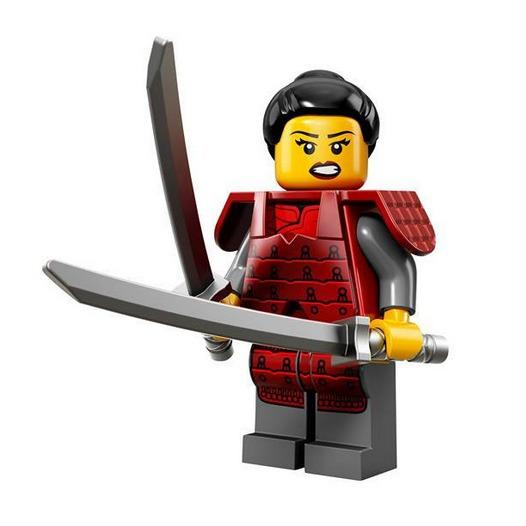 LEGO Collectable Minifigures Serie 13 Samurai