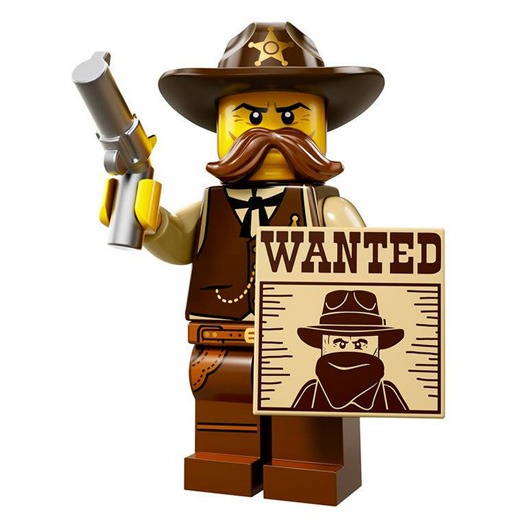 LEGO Collectable Minifigures Serie 13 Sheriff