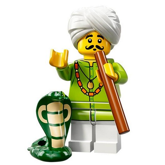 LEGO Collectable Minifigures Serie 13 Snake Charmer