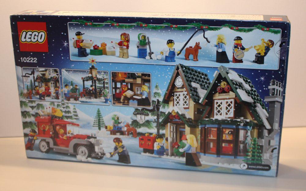 LEGO 10222 Winter Postkantoor doos achterkant