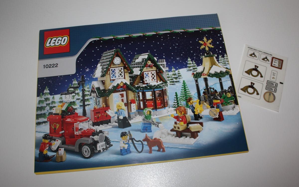 LEGO 10222 Winter Postkantoor boekje