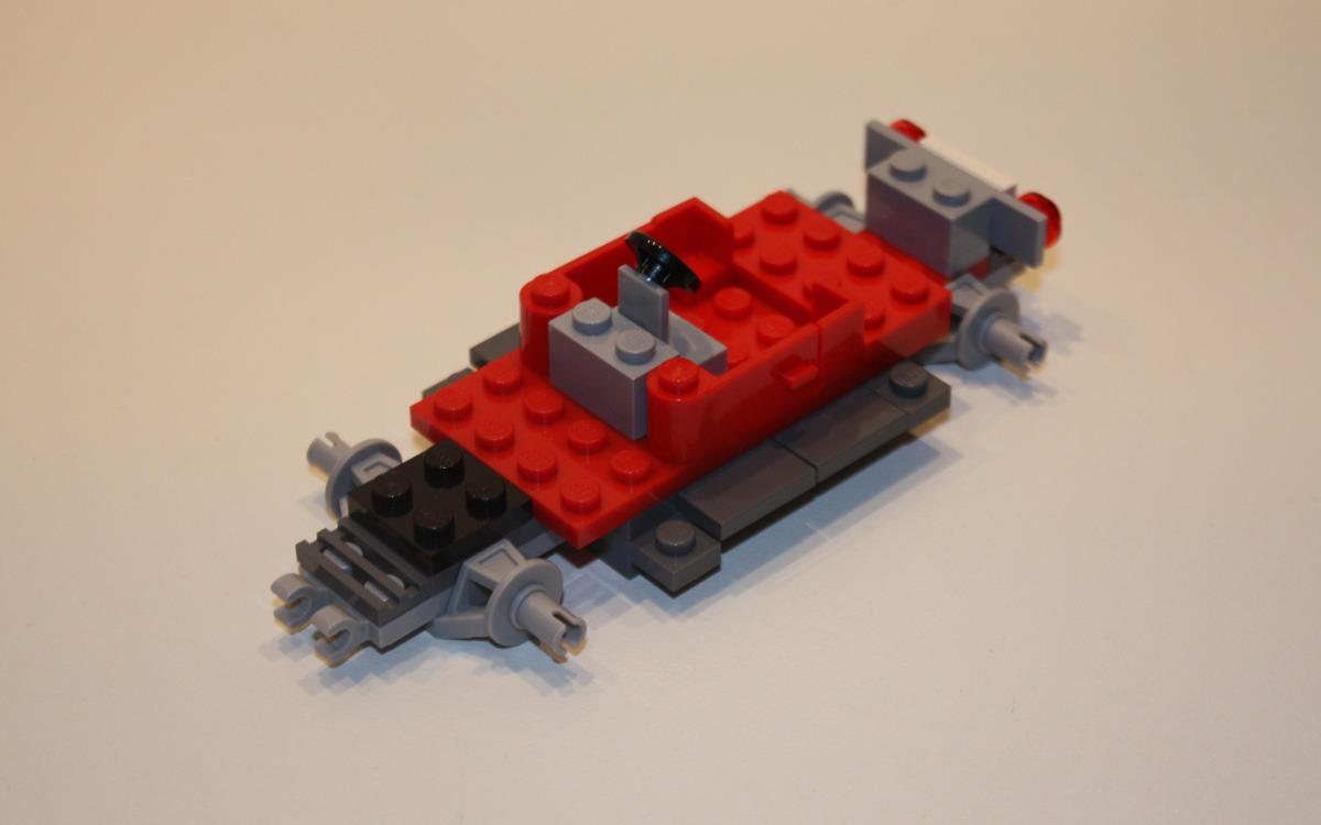 LEGO 10222 Winter Postkantoor onderstel