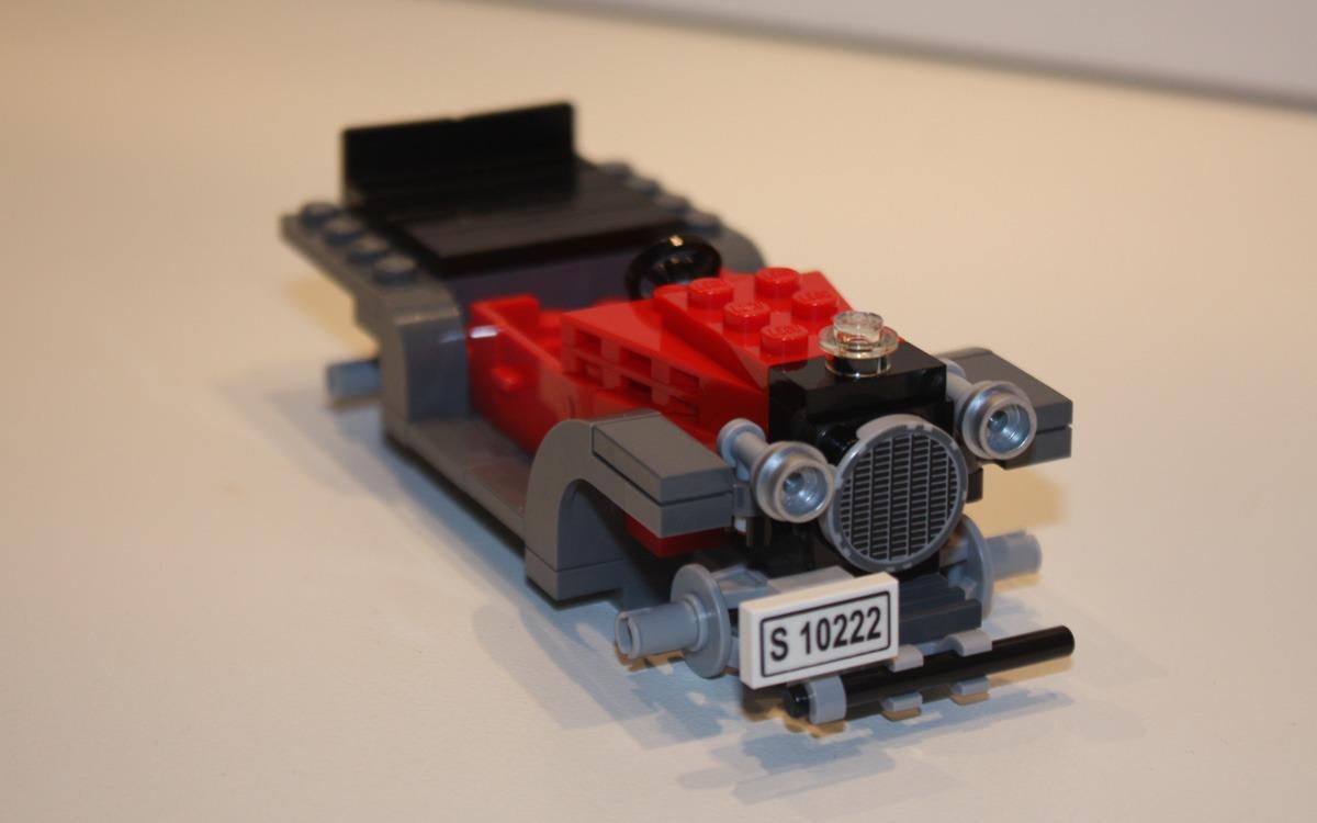 LEGO 10222 Winter Postkantoor wagen