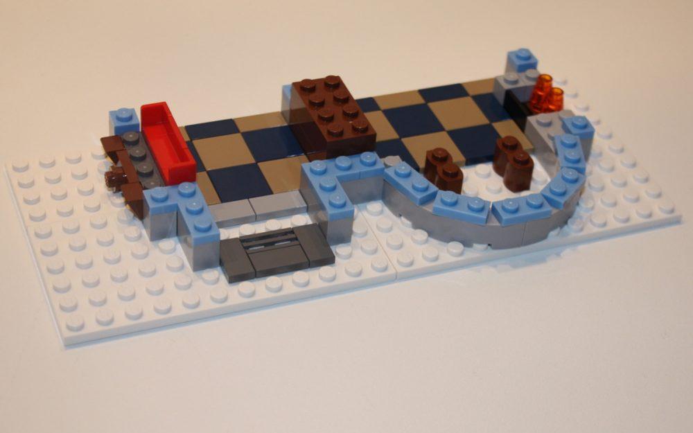 LEGO 10222 Winter Postkantoor vloer