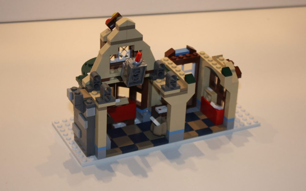 LEGO 10222 Winter Postkantoor lampje