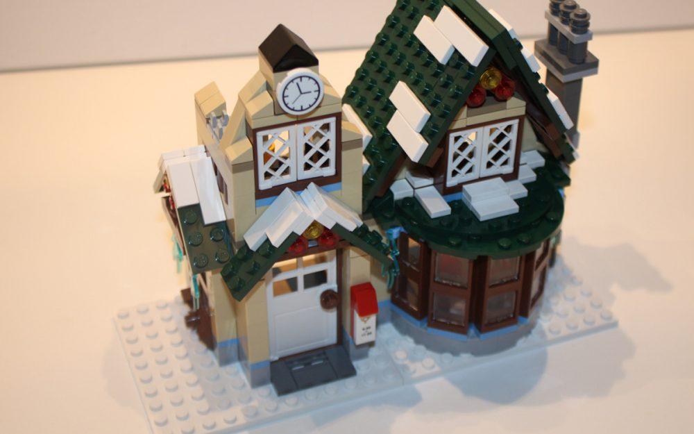 LEGO 10222 Winter Postkantoor opbouw