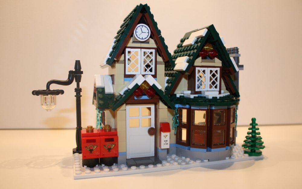 LEGO 10222 Winter Postkantoor voorkant