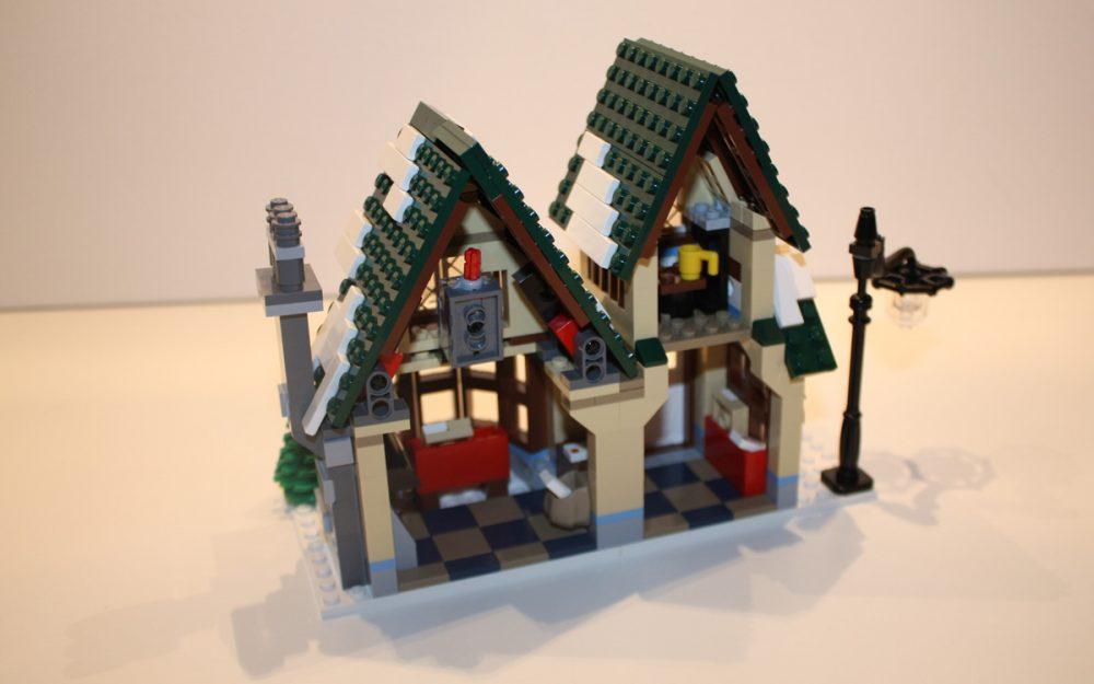 LEGO 10222 Winter Postkantoor achterkant
