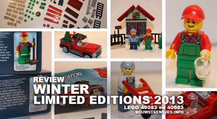 LEGO LIMITED EDITIONS 2013