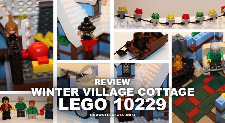 LEGO 10229 Winter Village Cottage review