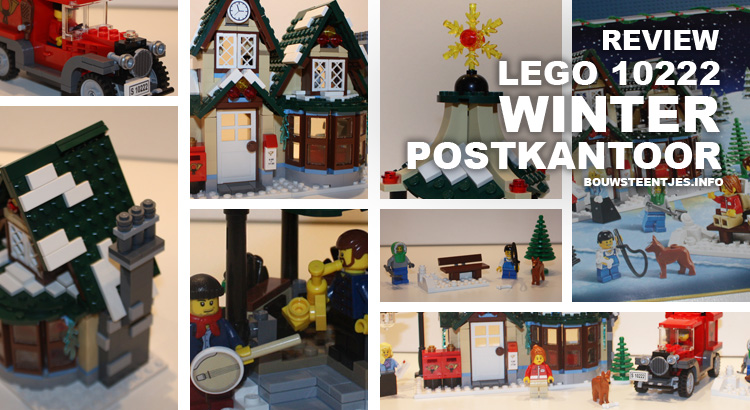 LEGO 10222 Winter Postkantoor preview