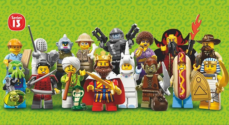 LEGO Collectable Minifigures Serie 13 preview