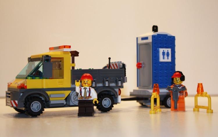 LEGO 60073 Dienstwagen