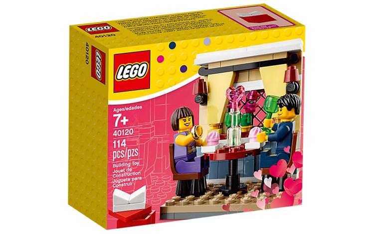 LEGO 40120 Huwelijksaanzoek set