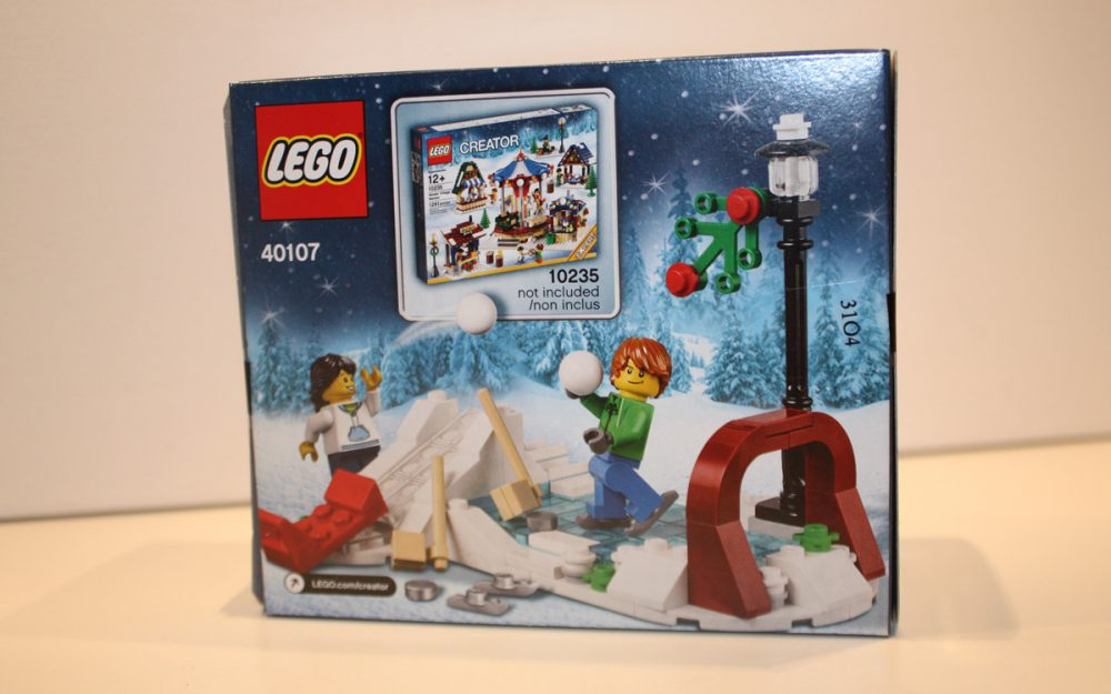 LEGO 40107 limited Edition 2014 Schaats set