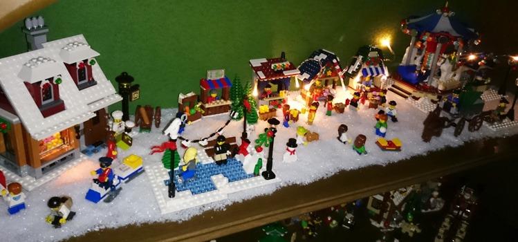 LEGO Kerstdorp
