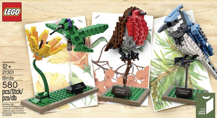 LEGO Ideas 21301 Vogels