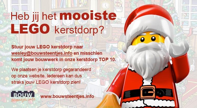 Heb jij het mooiste LEGO kerstdorp?