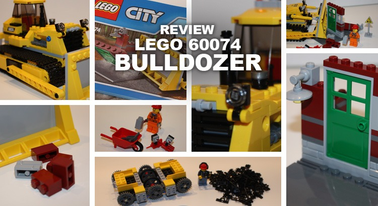 LEGO 60074 Bulldozer Review