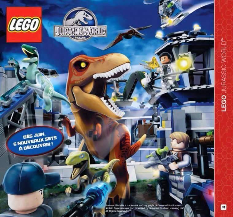 LEGO Jurassic World beeld