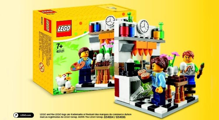 LEGO 40121 Pasen
