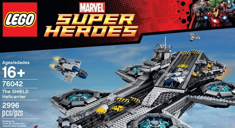 LEGO 76042 Marvel Superheroes The SHIELD Helicarrier