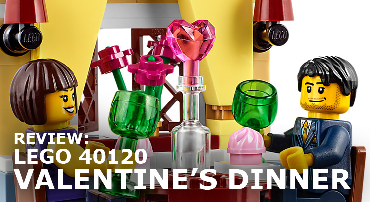 Review: LEGO 40120 Valentine's Dinner