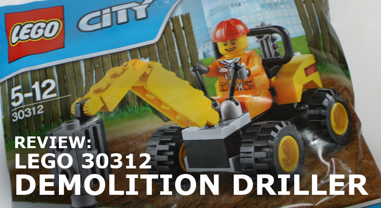LEGO City 30312 Demolition Driller