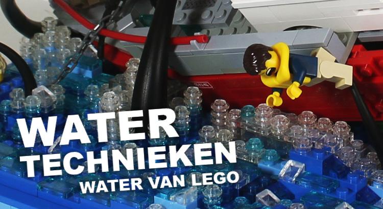 Water technieken met LEGO