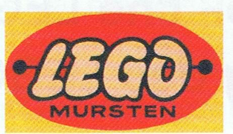 LEGO Logo Mursten