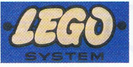 LEGO logo blauw 1958