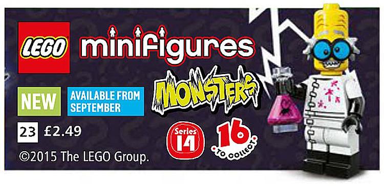Nieuwe afbeeldingen LEGO Minifiguren serie 14