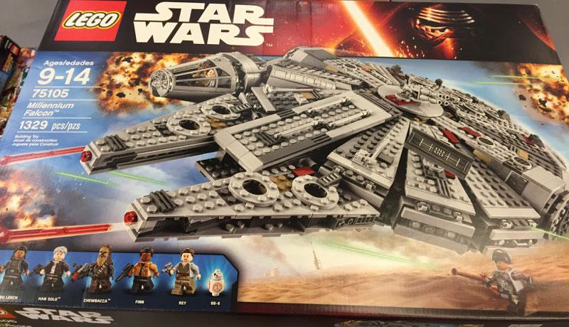 LEGO Star Wars Millennium Falcon 75015