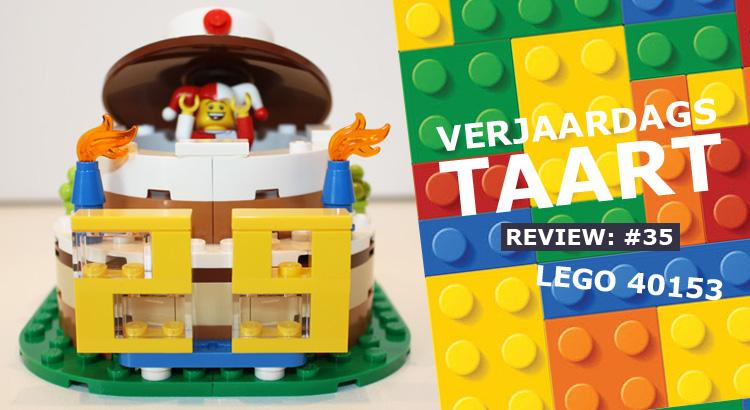 LEGO Verjaardagstaart 40153