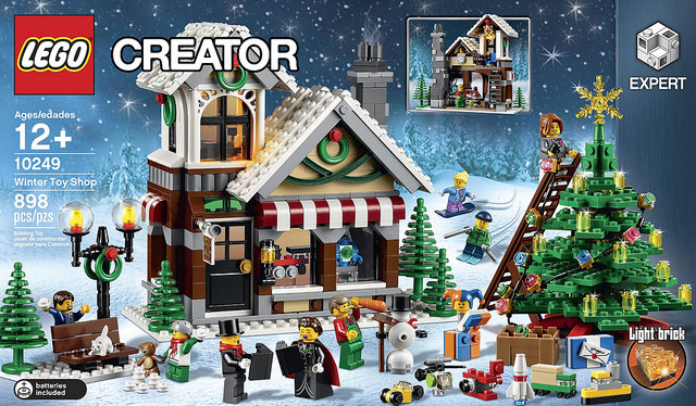 LEGO Creator 10249 Winter Village Toy Shop