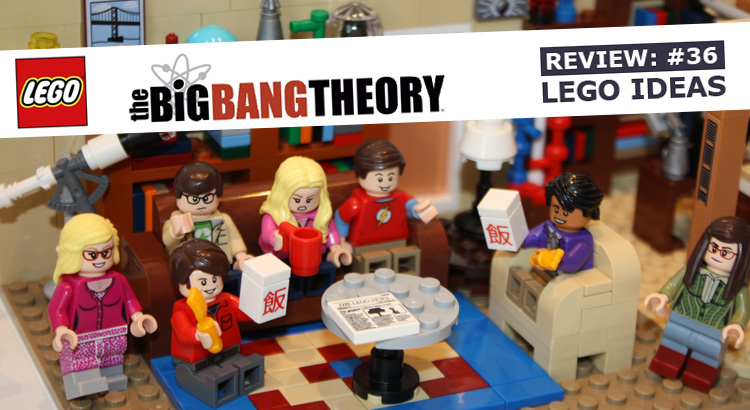 Review #36: LEGO Ideas 21302 The Big Bang Theorie
