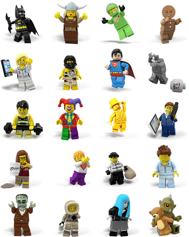LEGO Facebook stickers